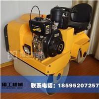 小型座驾压路机 专利产品850压路机 小型驾驶双轮压土机
