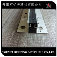 条型分隔缝金属包边分隔条分割条