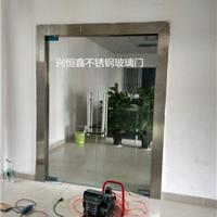 供应深圳玻璃门地弹簧玻璃门刷卡玻璃门