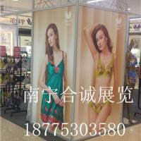 南宁合诚专业搭建供应商场衣服展示架展位