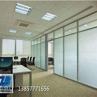 成都办公室玻璃隔断墙高隔间带百叶隔墙厂家