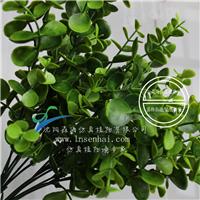 供应仿真手感尤加利假植物绿植盆栽装饰仿真