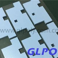 供应硅胶导热片导热系数4.5,可单双面背胶