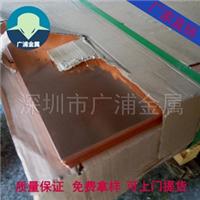 厂家大量供应高精T2紫铜板 量大从优