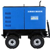 大型400A双把柴油发电电焊机