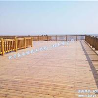 供应防腐木平台    木长廊   木花架