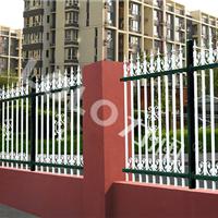 杭州供应杭州彩钢围栏-锌钢围墙护栏