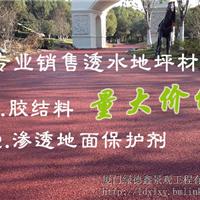 供应专业销售透水地坪材料(量大价优)
