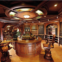 实木定制酒窖