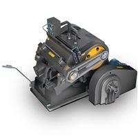 供应930压痕机PYQ203C自动啤机模切机切线机