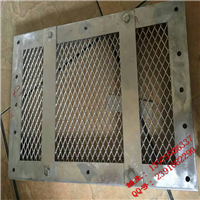 岩棉毡铝板冲孔网,勾搭式铝板钢板网,拉伸铝板网隔断