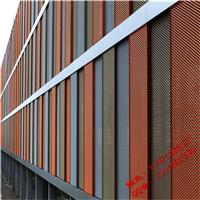 公路护栏铝拉伸网,喷涂铝板装饰网,铝板丝网长度