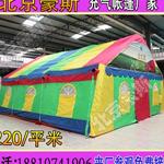 北京豪斯户外大型充气帐篷婚庆餐厅大棚厂家