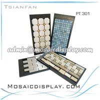 供应大理石马赛克方形展板-PT301