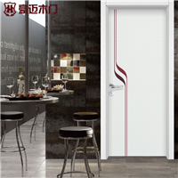 供应豪迈木门YH-4005时尚彩绘定制套装门
