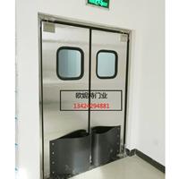 优质不锈钢门厨房自动门酒店隔断自闭门定制