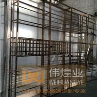 珠海酒窖酒架不锈钢工程批量订制