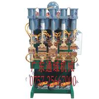 C型冰柜网篮子气动排焊机专业排焊机厂家
