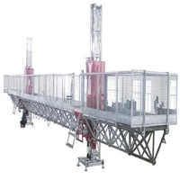 供应爬升式高空工作平台(世界跨度最长)