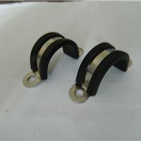 供应U型马鞍卡 双边固定圆管紧固夹Φ16