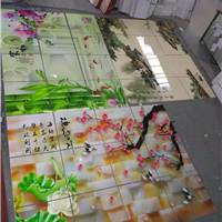 供应理光UV瓷砖背景墙打印机