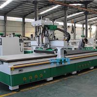 板式家具生产设备(数控开料机加侧孔机)