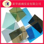 供应4mm~6mm热反射,低辐射彩色镀膜玻璃