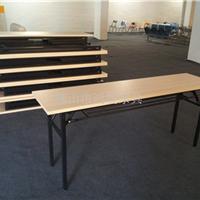 折叠会议桌生产厂家,折叠台架,条形招聘桌
