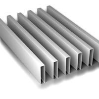 湖北木纹铝方通铝方通吊顶型材铝方通天花