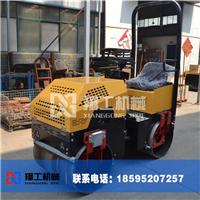 供应座驾式双钢轮压路机 液压振动压土机