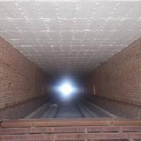 供应砖瓦隧道窑吊顶耐火棉施工