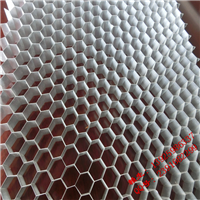 15mm厚铝制蜂窝板节点图片