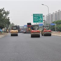 成都三环路主道沥青路面施工
