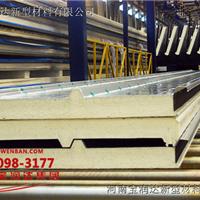 厂家供应3波峰75mm聚氨酯顶板 75mm屋面板