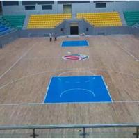 武汉篮球木地板,主副龙骨木地板厂家直销