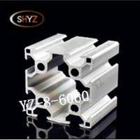 欧标6060铝型材 框架制作 开模挤压