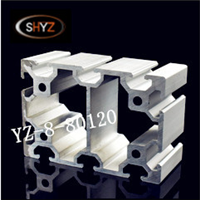 80120工业铝型材 载重工作台流水线