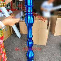 KTV会所走廊隔断用2.8米不锈钢花瓶葫芦立柱