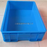 供应550蓝色周转箱 汽配储物箱