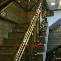 不锈钢葫芦扶手楼梯花瓶不锈钢立柱栏杆安装