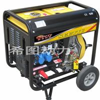 小型柴油发电焊机/户外施工用电焊机