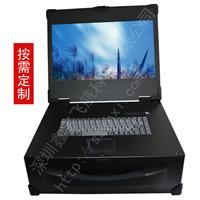 17寸3U机箱军工电脑抽拉硬盘加固笔记本