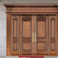 酒店铜门 商务铜门 豪华典雅