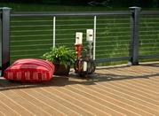 长白山生态木塑木WPC环保木再生木PVC长城板