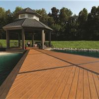 河南生态木塑木地板WPC环保再生木PVC长城板