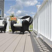 湖南生态木塑木地板WPC木塑再生木PVC长城板