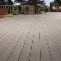 湖北生态木塑木地板WPC环保再生木PVC长城板