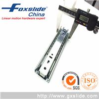 供应FOXSLIDE45宽三节钢珠抽屉滑轨