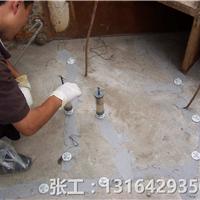 混凝土地面裂缝,现场施工图片学习如何处理,混凝土地面裂缝