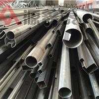 供应不锈钢异形管 凹槽管,护栏扶手管